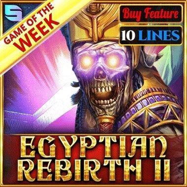 Egyptian Rebirth II - 10 Lines